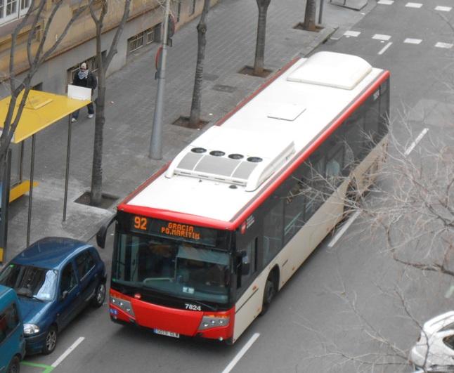 Autobus Miejski w Barcelonie