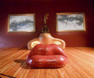 Sofa w hołdzie Mae West