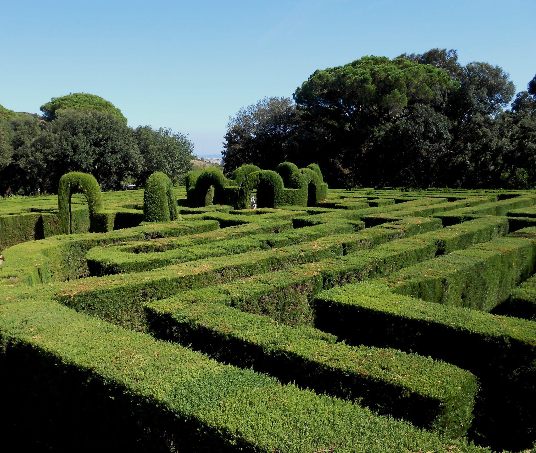 Parc Laberinto Barcelona