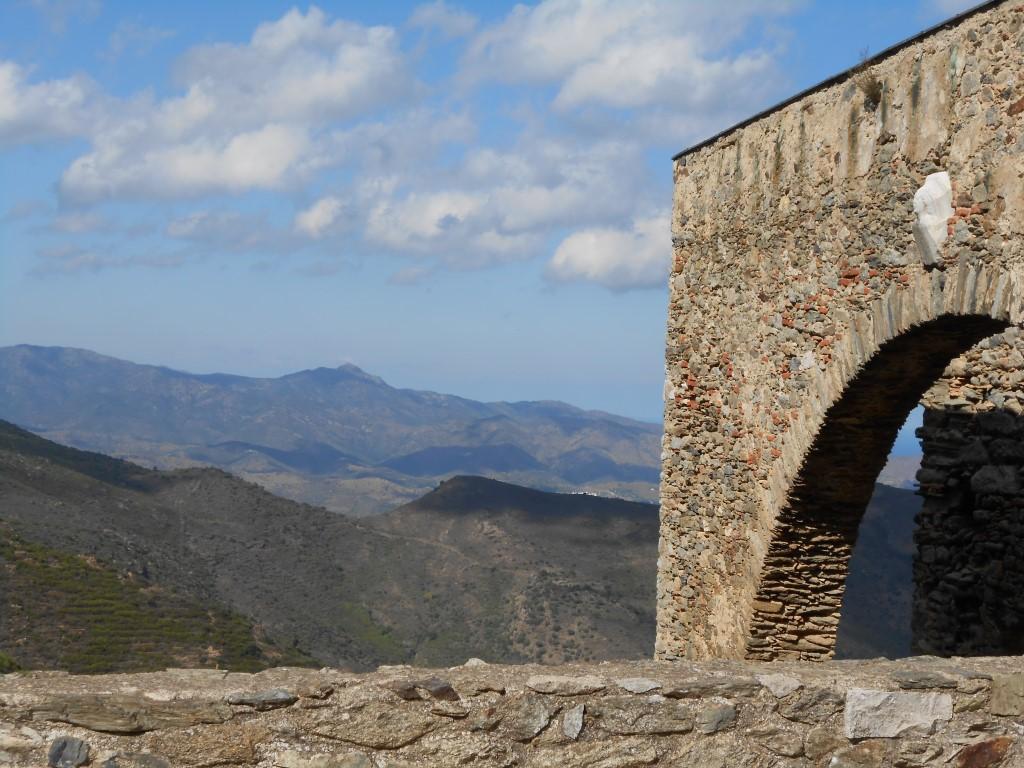 widok z klasztoru