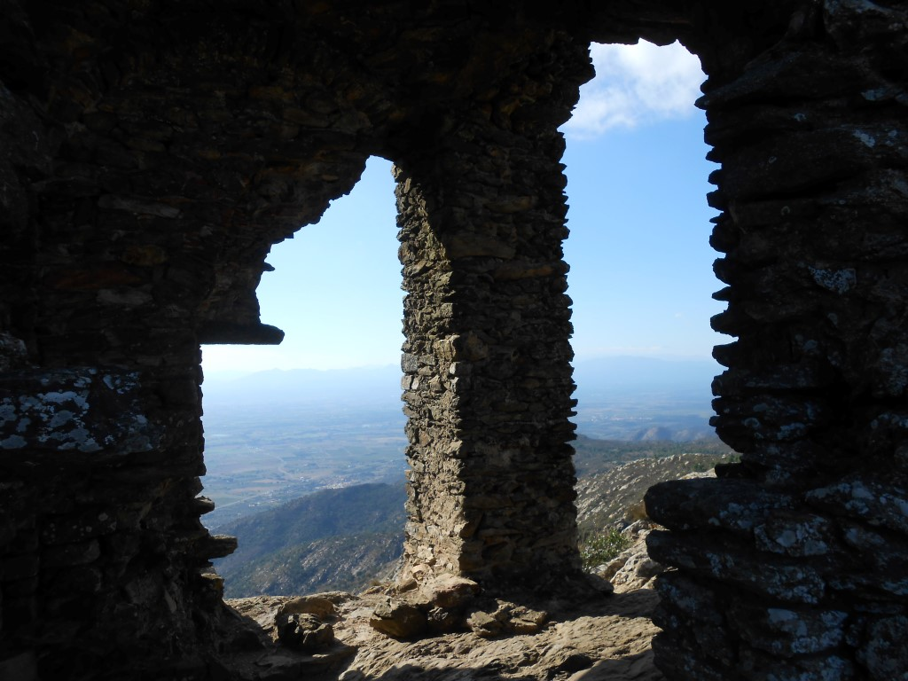 Ruiny zamku de Verdera