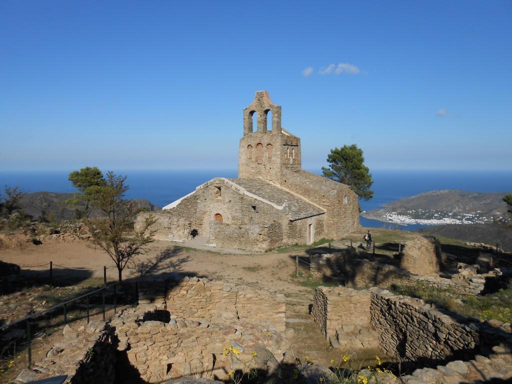 kościół Santa Helena / Santes Creus de Rodes