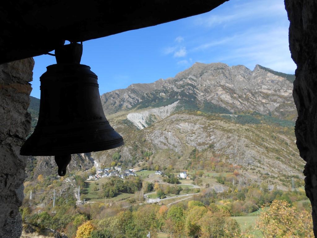 Widok z dzwonnicy w Taüll